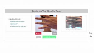 Knuckle Scan