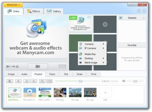 ManyCam.com - Different Video Sources