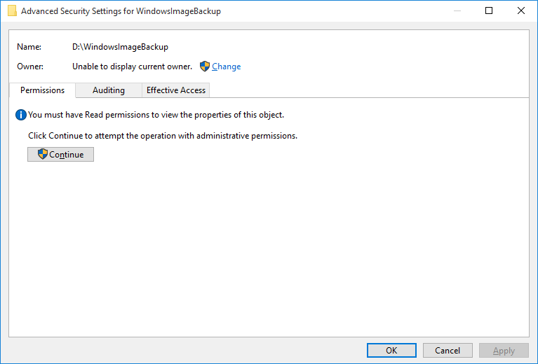 Taking Control of a WindowsImageBackup Folder - Jacob Binstein