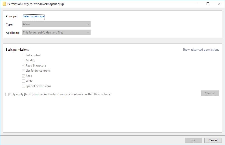 Taking Control of a WindowsImageBackup Folder - Jacob Binstein
