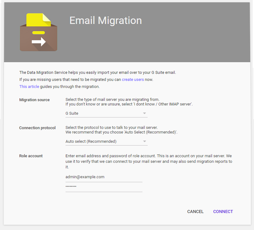 Migrate Email from One G Suite to Another (Tutorial)